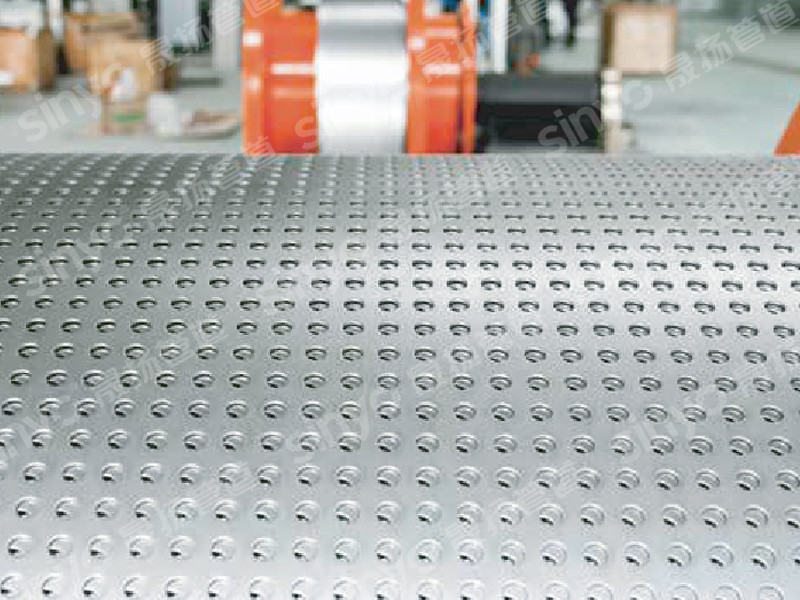 Perforated steel strip polyethylene composite pipe for water supply